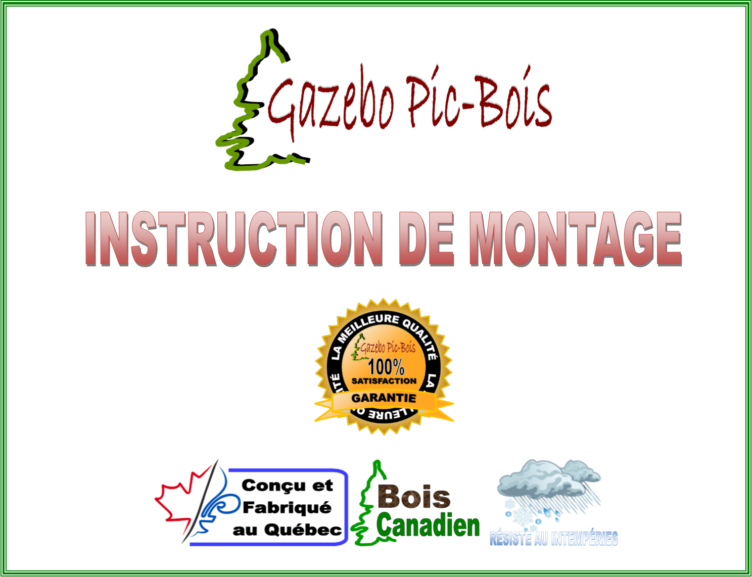 2017 Instruction montage page couverture
