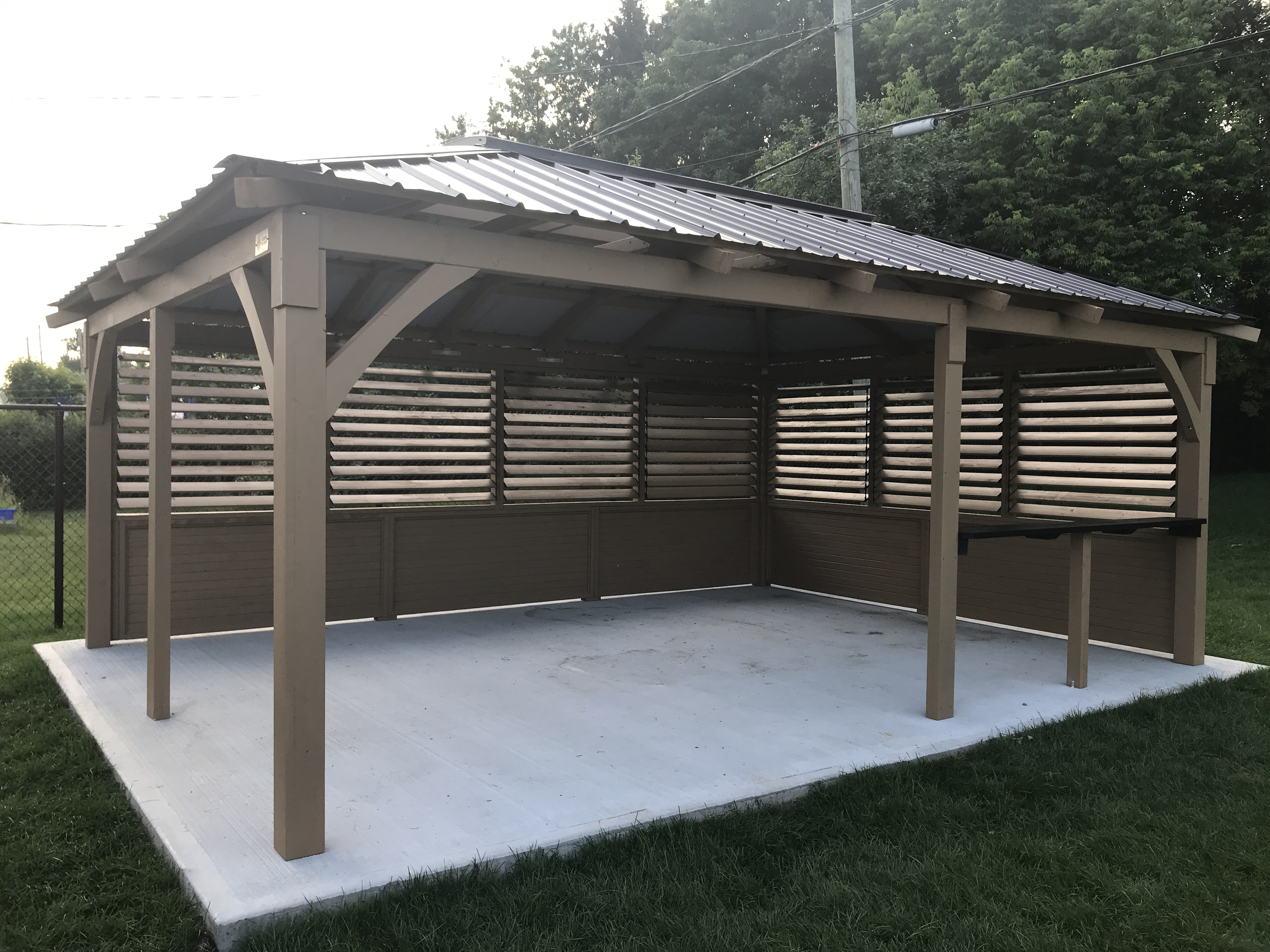 Open Gazebo Collection Tradition 14′ x 20′